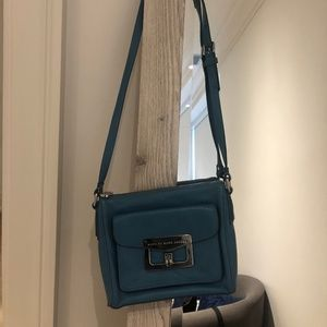 Marc Jacobs Blue Over the Shoulder Purse